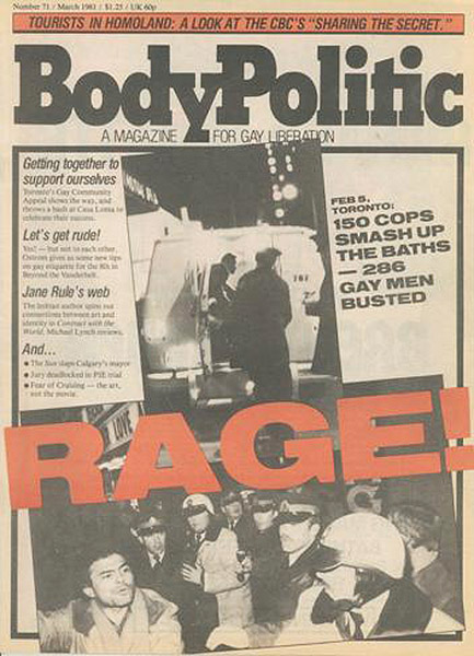 The Body Politic - July/August 1981