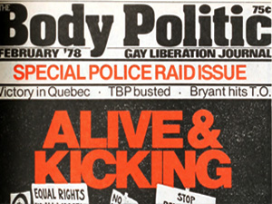The Body Politic: 1978
